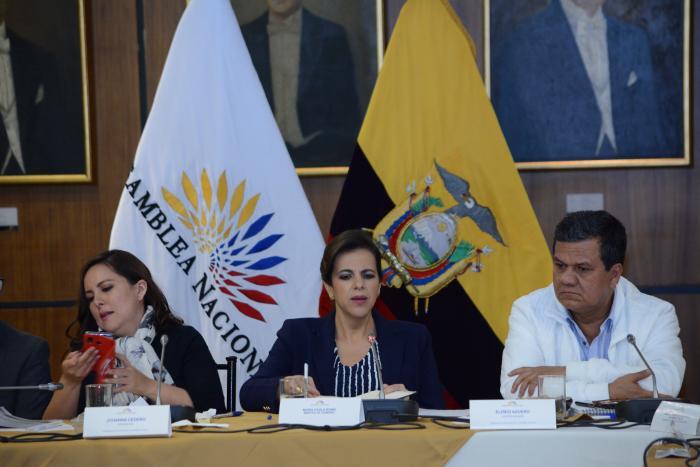 Comisión de Fiscalización recibe a María Paula Romo