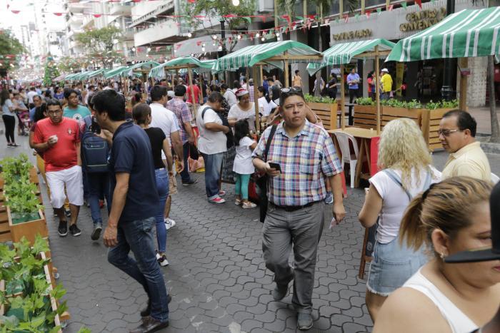 avenida 9 de octubre peatonalizada