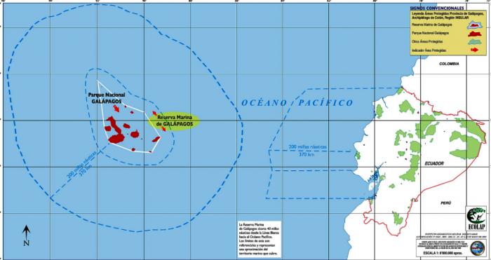 mapa pesca