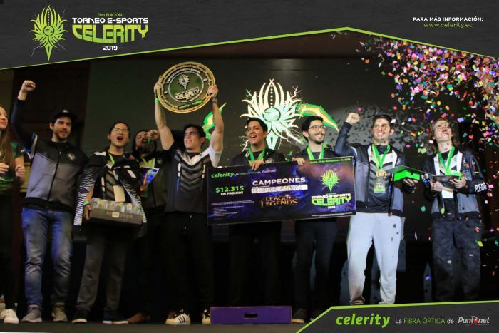 campeones torneo celerity esports predador