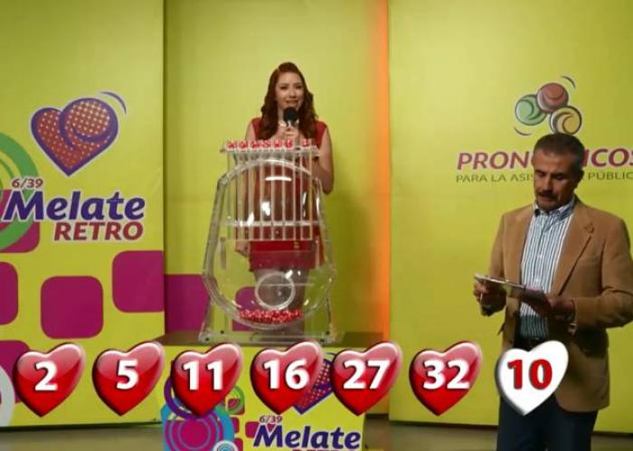 sorteo lotería melate y revancha