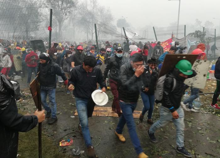 Protestas Quito