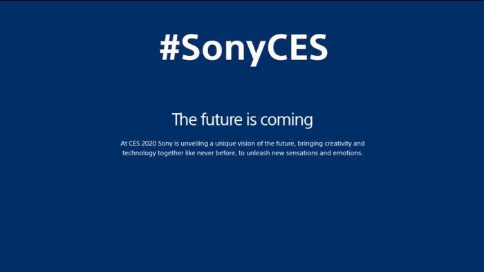Sony CES2020