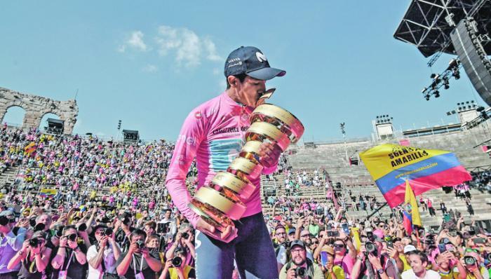 Carapaz - Giro 01