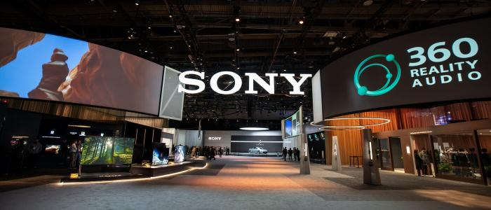 Booth Sony