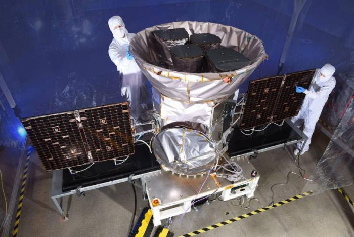 tess nasa satélite espacial
