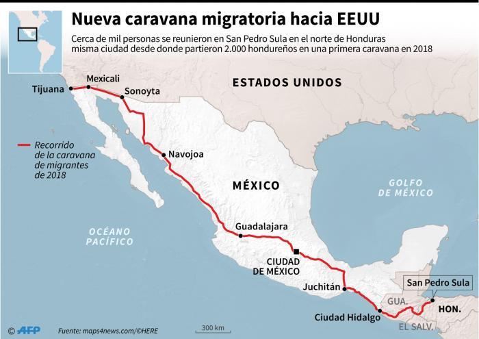Caravana migrante10