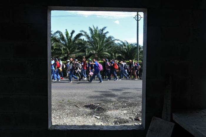 Caravana migrante8