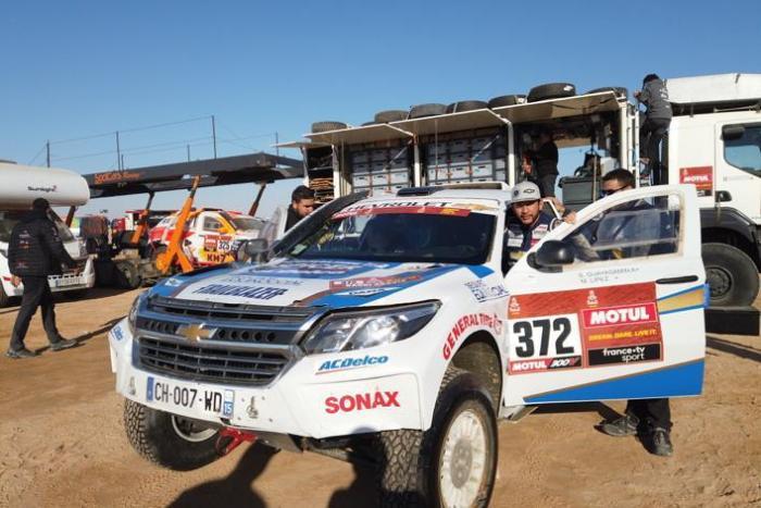 Sebastián Guayasamín - Dakar etapa final