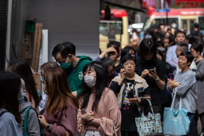 Hong Kong. Coronavirus. Enero 2020.