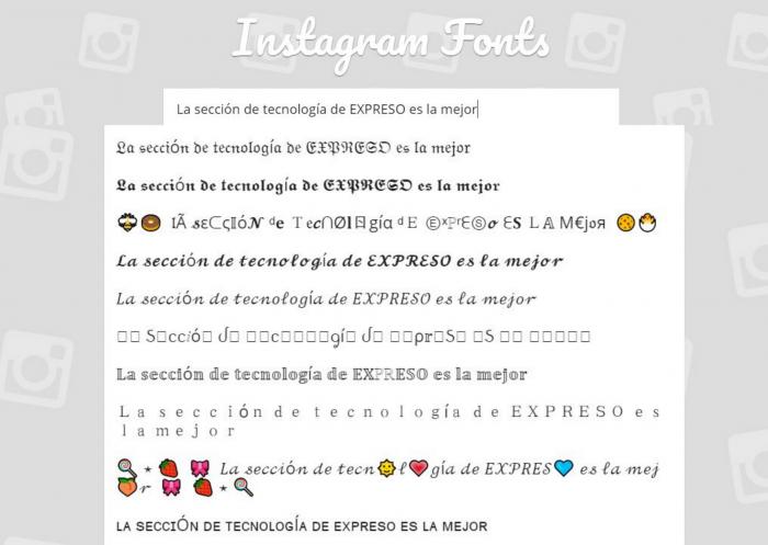 4 Pasos Para Cambiar De Tipografía En Instagram