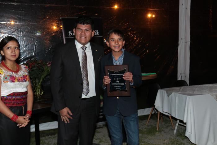 Premiación Asociación de Tenistas de Pichincha
