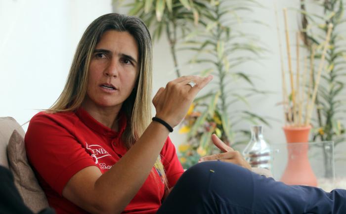 Emily Lima - seleccionadora femenina