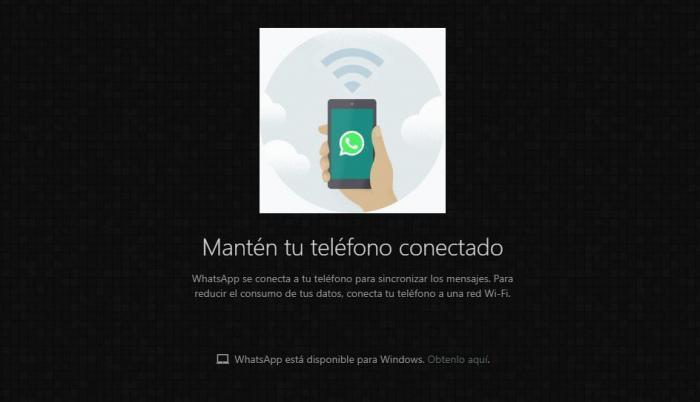 Whatsapp web oscuro