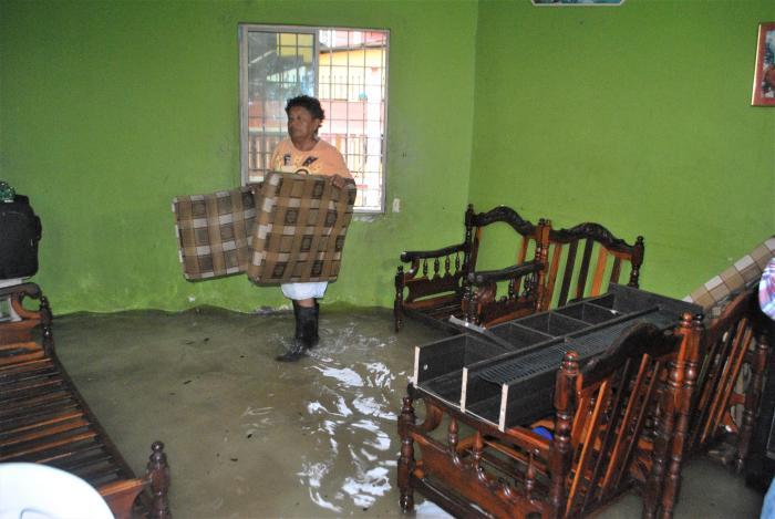 inundación en Machala