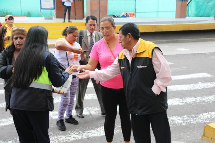 Desinfección en Quito