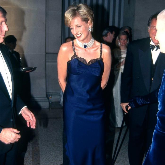 Princesa Diana en la Met Gala