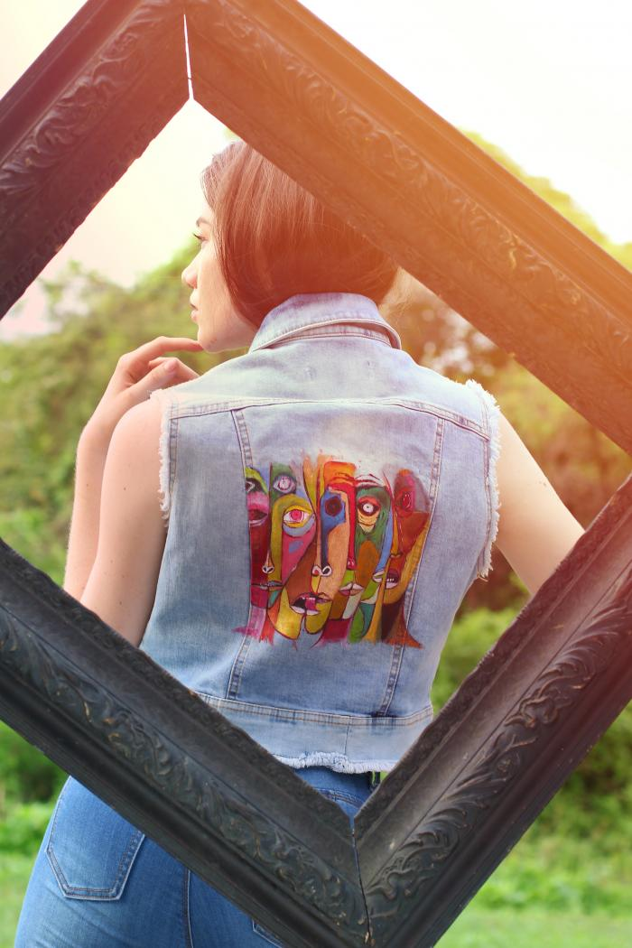 Arte sobre la ropa