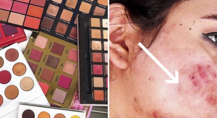 Maquillaje réplica