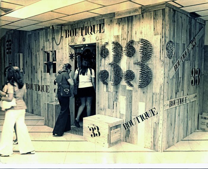 boutique 33 innovacion en los 70s