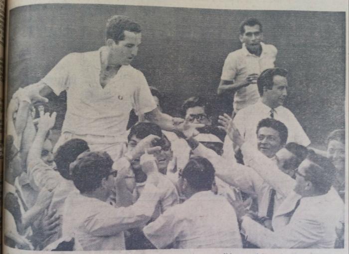 Ecuador Estados Unidos Copa Davis 1967