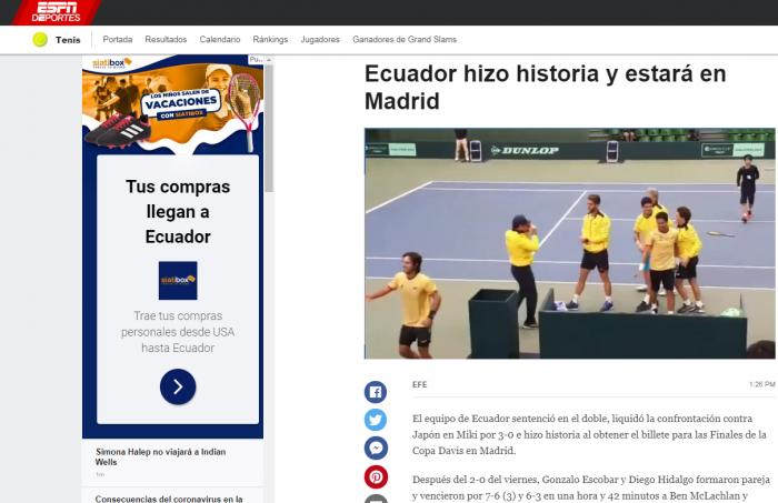 prensa internacional ecuador al grupo mundial