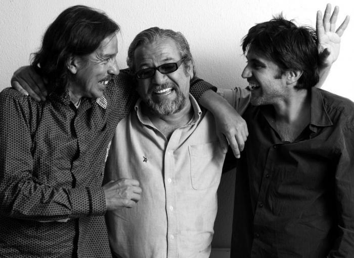 Ángel Cobo, Héctor Napolitano y Christian Hidrobo