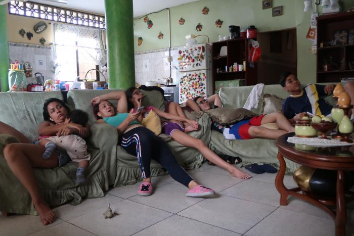 Familias en cuarentena