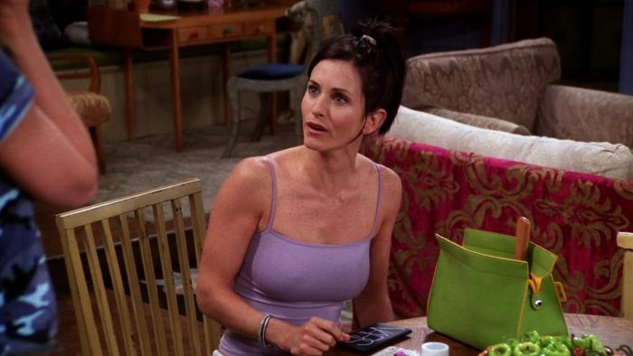 Escena de la serie Friends.