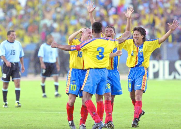 Ecuador - Corea y Japón