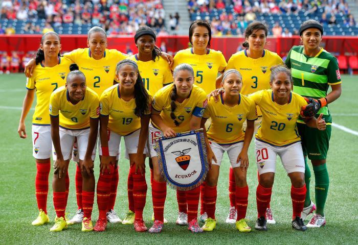 Ecuador Mundial femenino Canadá 2015