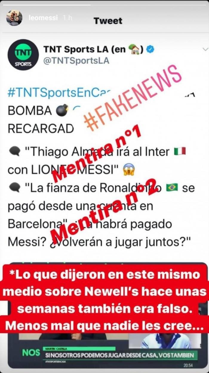 Messi - Instagram