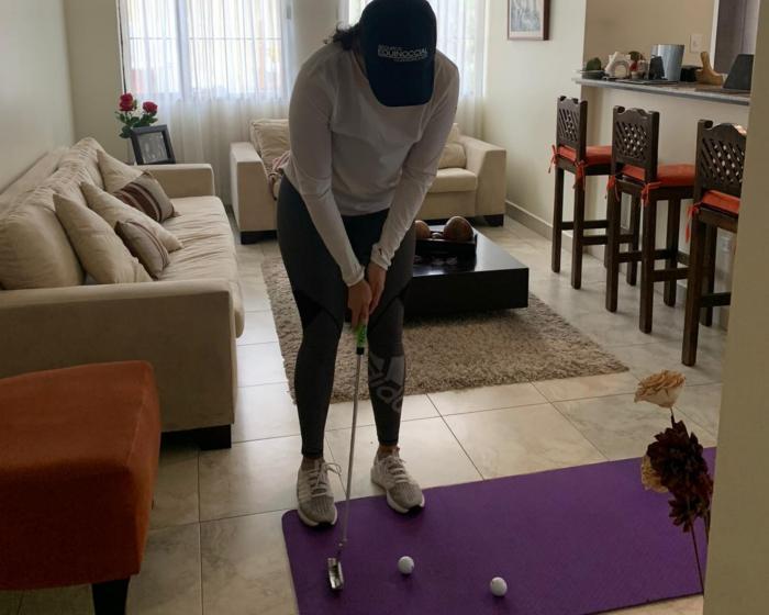 Daniela Darquea - golf