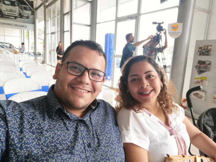 Jhon Guaranda y Marianela