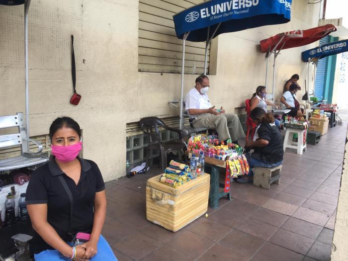 Coronavirus centro de Guayaquil