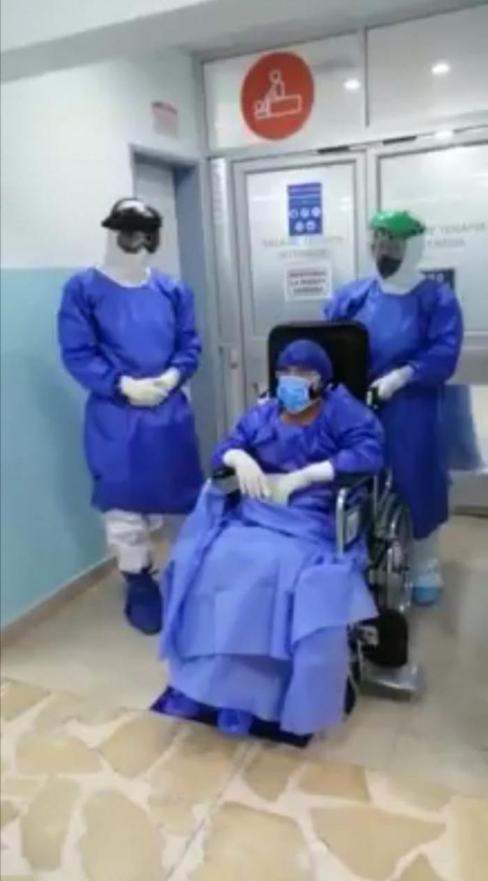 Paciente con COVID-19