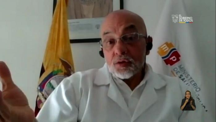 Xavier Solórzano, viceministro de Salud