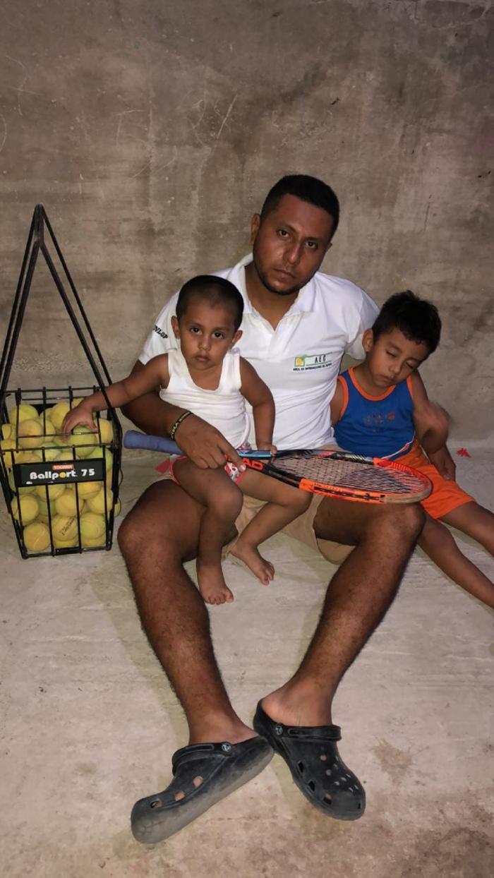 Abdón Alcívar Asociación Entrenadores Tenis