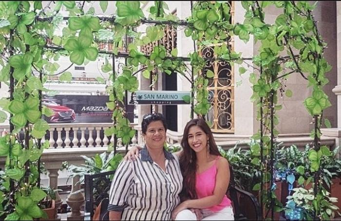Camila Cedeño en familia 2