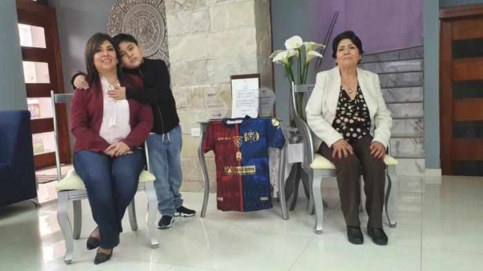 Mayra Argüello Olmedo Día de las Madres