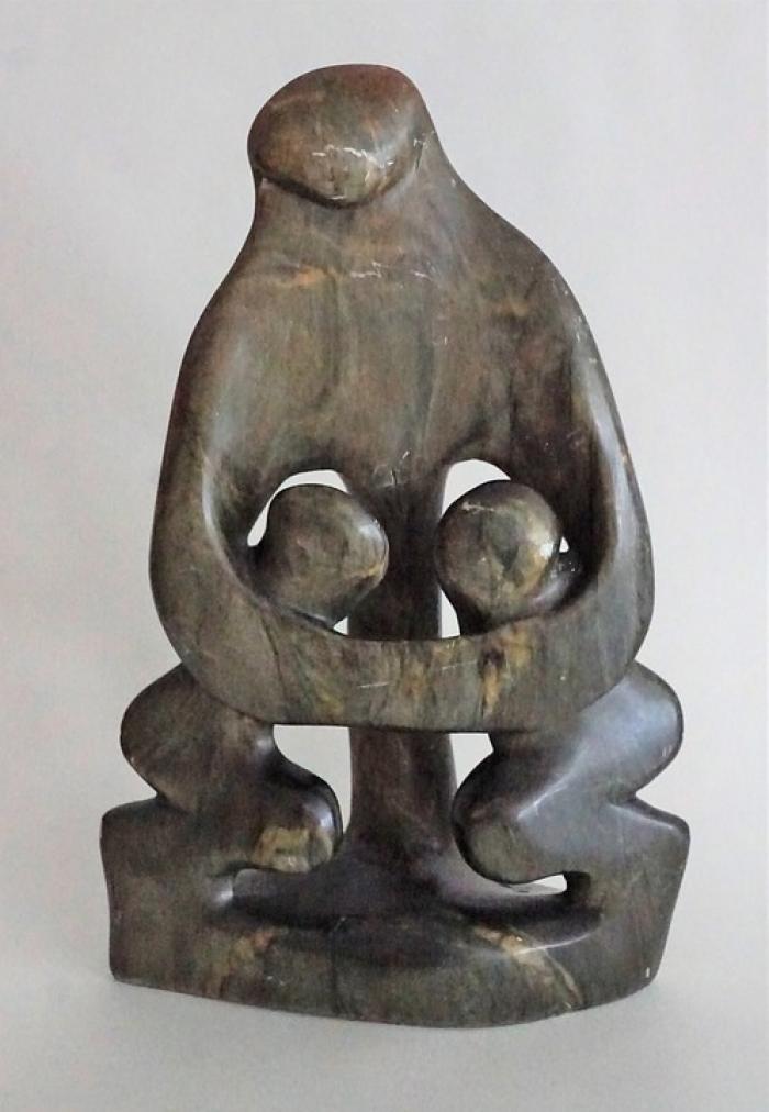 escultura inspirada en mamá