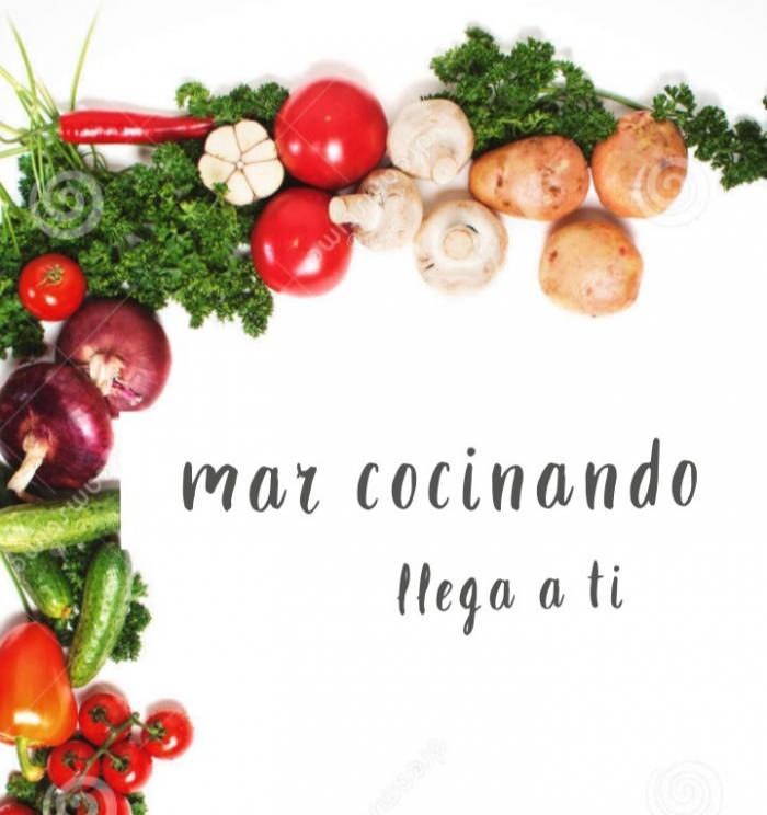 María del Mar, emprendimiento Mar cocinando.