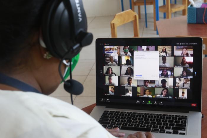 Inauguran clases virtuales