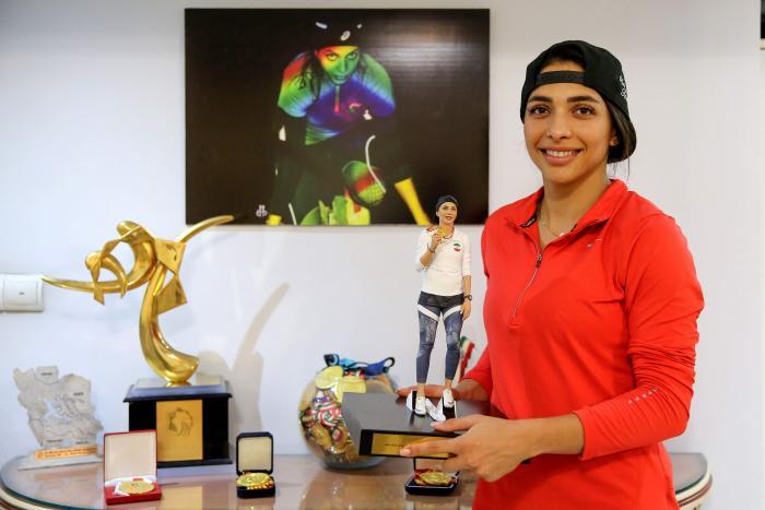 Atleta-iraní-Maryam-Toosi
