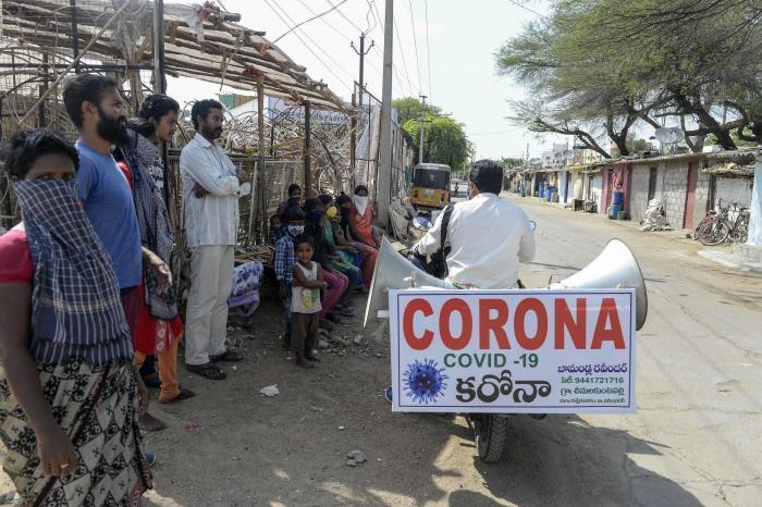 Pandemia-Coronavirus-India