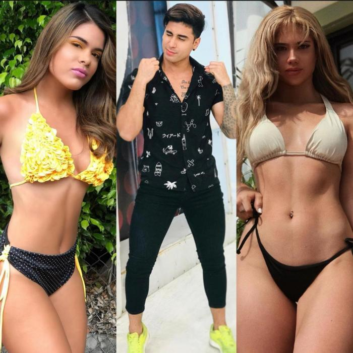 Fabiana Noboa, Fercho Gómez y Alicia Cruz.