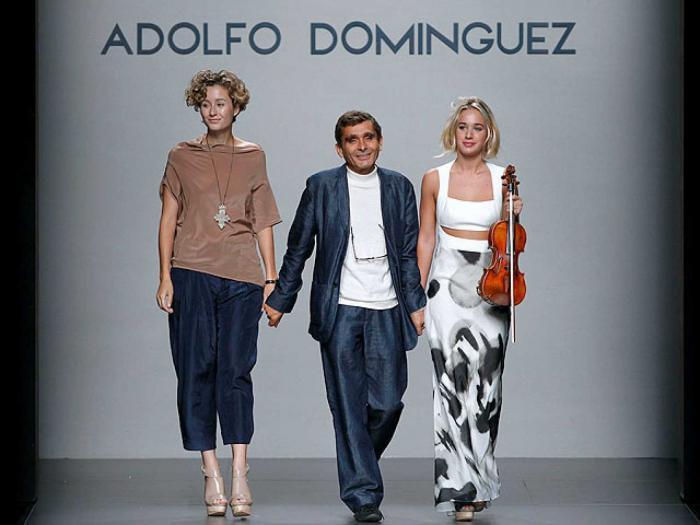 Adolfo Domínguez, diseñador español.