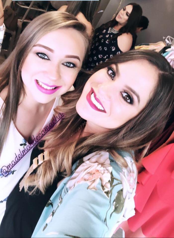 Verónica Camacho y su cuñada