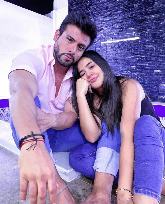 Efraín Ruales y Michela Pincay