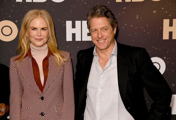 Nicole Kidman junto a Hugh Grant.